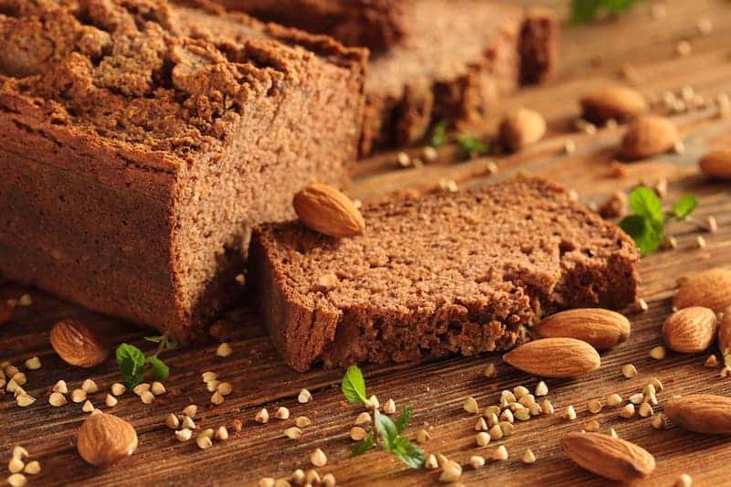 Bread with no gluten